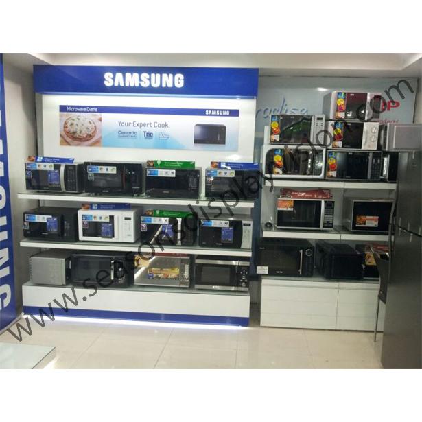 Microwave Display Stand